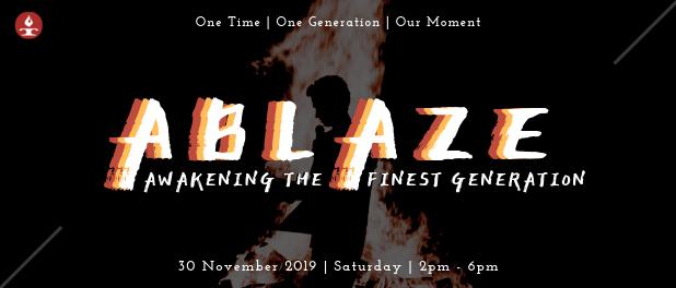 Ablaze 2019 Banner