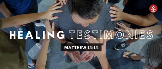 Healing Testimonies Banner